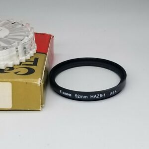 Canon 52mm Haze filter  - with case and box.