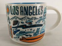 Starbucks Los Angeles Been There Series Across the Globe Collection Mug 14 floz
