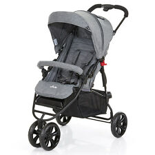 ABC Design Buggy / Jogger Treviso 3 - Kinderwagen mit Liegefunktion - Anthracite