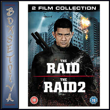 THE RAID & RAID 2 - 2 FILM COLLECTION - Iko Uwais    **BRAND NEW DVD BOXSET**
