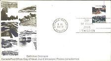 CANADA Day of Issue Cover Briefmarke Definitive Ordinaire 1972 Stempel OTTAWA