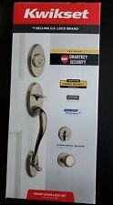 Kwikset Front Door Lock Shelburne Single Cylinder W/juno SmartKey Antique Brass