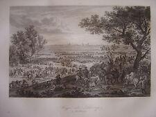 Grande gravure du Siège de DOUAI le 4 juillet 1667