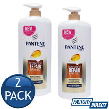 2 x PANTENE PRO-V CONDITIONER ULTIMATE 10 REPAIR & PROTECT BATH SHOWER HAIR 1.2L