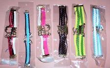 Leather Tibetan Silver Fashion Bracelets