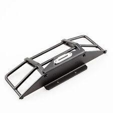 Metal Rock Crawler Front Bumper Set Black for Land Rover RC4WD D90