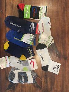 Lot Of 8 New Mens Small/Medium Sock guy Cycling Socks