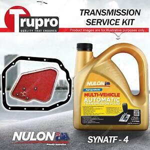 SYNATF Transmission Oil + Filter Kit for Mitsubishi Cordia AA AC Lancer CA CB