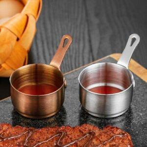 Restaurant Teppanyaki Steak Sauce dish Heating Pot Seasoning Cup Sauce Pan