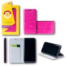 para Huawei P20 Lite Flip / smart Funda Caja Rosa Estuche de protección