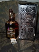 A massive one us GALLON bottle of CHIVAS REGAL 12 year old blended scotch whisky