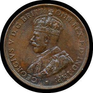 1924 Australia Penny coin (Choice Grade)