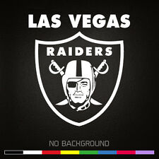Las Vegas RAIDERS NFL Oakland Football Vinyl Decal Sticker | Choose Color