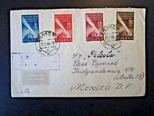 Poland 1948 Cover to Mexico - Z4956