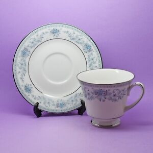 Noritake 'Blue Hill' Cup & Saucer Vintage