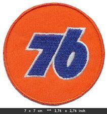 76 Aufnäher Aufbügler Patches Motorsport Rennsport Motor Oil Gasoline USA