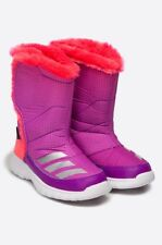 Adidas Climawarm Lumilumi K Winter Snow Boots Sneakers Purple water-repellent