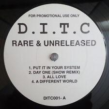 D.I.T.C. - Rare & Unreleased - 2002