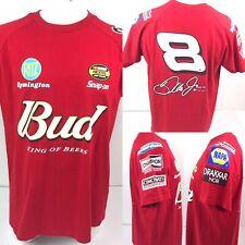 Dale Earnhardt Jr Bud King of Beers Red T Shirt Mens XL NASCAR Winners Circle