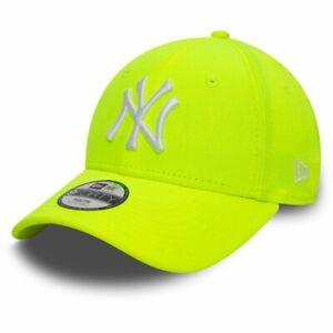 New Era 9Forty KIDS Cap - New York Yankees neon yellow