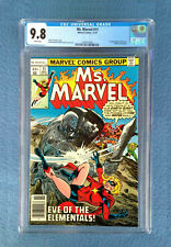 MS. MARVEL #11 CGC 9.8 NEAR MINT/MINT WHITE PAGES MARVEL COMICS 1ST HECATE APP.