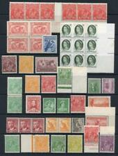 Pre-Decimal Australian Stamp Blocks