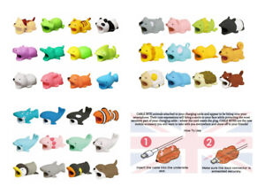 Cable Bite Iphone Wire Cute Animal Protector Mobile Phone Chomper Charger Plug