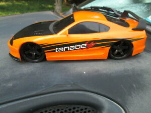 JADA '95 Orange TOYOTA SUPRA Tanabe NO.99754 (HAS NO REMOTE)Rare! USED