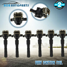 Set of 6 Ignition coils for BMW E36 E46 E39 320i 323i 328i M52B20 M52B25 2.0L