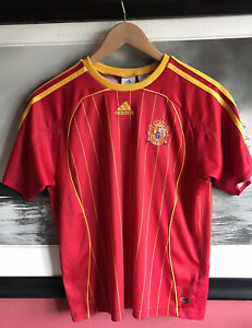 Kids ADIDAS Spanish National Football Jersey Size 30/32 Eu 152