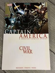 Captain America: Civil War (2006 and 2007) Marvel VF/NM