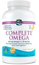 Nordic Naturals Complete Omega 565mg 180caps.For Healthy Skin, joints, cognition
