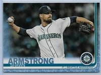 2019 Topps Series 2 Fathers day blue parallel Shawn Armstrong 20/50 Mariners
