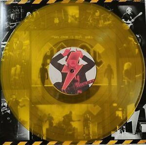 "LP AC/DC ""POWER UP""  GELBES YELLOW VINYL LIMITED EDITION AC ohne Cover"