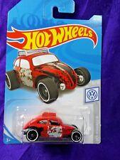 Hot Wheels Custom Volkswagen Beetle Red 1:64 Scale Volkswagen Series #8/10 New