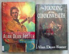 Lot #6-49 Allen Dean Foster 2 Novels in Hard Cover