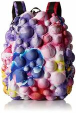 MADPAX Bubble FLOWER POWER Half Backpack 3D BLUE FLOWERS Rucksack Bag