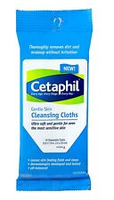 Cetaphil Gentle Skin Cleansing Cloth, Ultra Soft, 10 Disposable Cloths