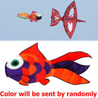 Rainbow Fish Windsock Wind Spinner for Kite Tail Backyard Garden Decor Kids Fun
