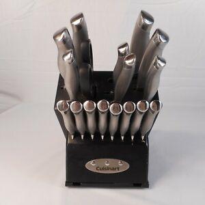 Cuisinart 17-Piece Stainless Steel Cutlery Knife Block Set