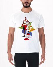 8575dd264524f5 Nike Air Hare Jordan 7 VII MJ Bugs Bunny WB Poster T-Shirt 658559 100