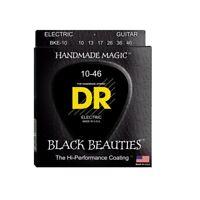DR Strings BKE-9 Black Beauties Coated Electric Guitar Strings, 10-46