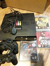 Sony Playstation 3 PS3 Slim 320gb Console with controllers and games