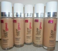 BUY2GET 1 FREE(ADD 3)  MAYBELLINE SUPERSTAY MAKEUP  1.0oz *SEE BELOW FOR SHADES*