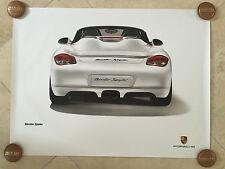 Porsche Original Factory Poster - Boxster Spyder (987 / series 1)