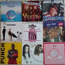 54 Maxis, Vinyl, Schallplatten - Rock, Pop, Disco u. a. (Paket 1)