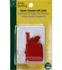 Dritz Quilting Needle Threader with Cutter 3072