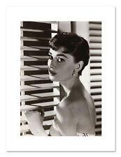 Audrey Hepburn Blinds B&W Poster Print - BRAND NEW - 60 x 80 cms