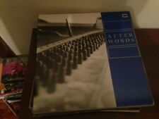 "AFTER WORDS 12"" LP USA PUNK ALTERNATIVE ROCK"