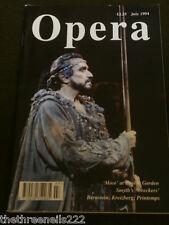 OPERA MAGAZINE -  BERNSTEIN - JULY 1994